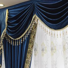 New arrival Twynam Blue and Green Waterfall and Swag Valance and Sheers Custom Made Chenille Velvet Curtains Pair- - Custom Curtains Drapes Draperies Sheers Rods and Tracks Painted Curtains, Beige Curtains, Elegant Curtains, Shabby Chic Curtains, Cheap Curtains, Drop Cloth Curtains, Green Curtains, Floral Curtains, Rustic Curtains