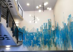 158 JAN SMUTS – Schematic Design Schematic Design, Wall Murals, Pendant Lighting, Design Elements, Signage, Entrance, Modern, Projects, Painting