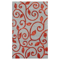 Fogli Rug in Red from the Rug Market event at Joss and Main!