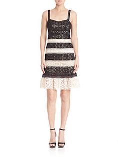 Nanette Lepore - Feel the Music Lace Dress