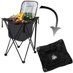 Brigham Young Cougars Sidekick Cooler - Black - $32.99