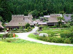 京都府南丹市美山町  重要伝統的建造物群保存地区