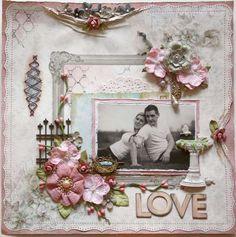 Beautiful Layout: Love **SWIRLYDOO'S July Kit!!** by Gabrielle P