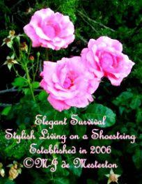 The Original Stylish Living on a Shoestring - Elegant Survival