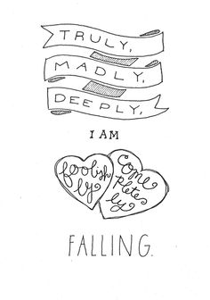 """truly, madly, deeply""-- one direction"