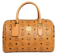 MCM Heritage Boston Purse (Medium)