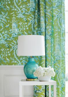 Bedroom Thibaut Pagoda Garden Wallpaper in Gelb All About Air Conditioner Rentals Article Body: An a Garden Wallpaper, Of Wallpaper, Chinoiserie Wallpaper, Zuber Wallpaper, Oriental Wallpaper, Chinese Wallpaper, Matching Wallpaper, Pagoda Garden, House Of Turquoise