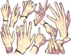 dessiner les #Mains dendenkiribaku
