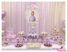 Increíbles ideas una fiesta de cumpleaños de la Princesita Sofía. Encuentra todos los artículos para tu fiesta en nuestra tienda en línea: http://www.siemprefiesta.com/fiestas-infantiles/ninas/articulos-princesita-sofia.html?utm_source=Pinterest&utm_medium=Pin&utm_campaign=Sofia