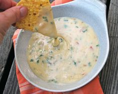 Queso blanco is a restaurant favorite, now you can make a homemade version at home! Creamy cheese, spicy peppers, onions, and tomatoes make up this queso blanco recipe. Vegetarian Mexican, Mexican Food Recipes, Real Food Recipes, Cooking Recipes, Brunch Recipes, Appetizer Recipes, Summer Recipes, Appetizers, Cheese Dip Mexican