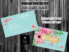 Watercolor Lips Business Card - Watercolor Lipstick Kiss Card for Any Business - Make Up Artist -Lips- Presenter Business Card - Lularoe Business Cards, Printing Services, Online Printing, Lipsense Business Cards, Elegant Business Cards, Name Logo, Standard Business Card Size, Company Names, Watercolor Flowers