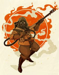 i like bizarre things — 1920 team fortress 2 characters pd: the author of. Team Fortress 2, Tf2 Pyro, Character Art, Character Design, Tf2 Memes, Retro Fan, Before Midnight, Fanart, Dieselpunk