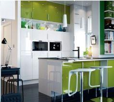 cuisine ikea aménagee dans petit espace 388x346 10 idées pour aménager une petite cuisine