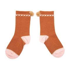 Triangle Socks with Pompom Emile et Ida Baby Children- A large selection of Fashion on Smallable, the Family Concept Store - More than 600 brands.