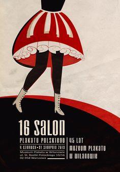 Plakat Salon Plakatu Polskiego