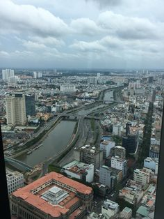 View from the tower, Ho Chi Minh, Vietnam