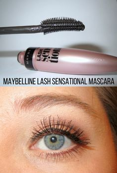 Maybelline Lash Sensational Mascara...one of the best drugstore mascaras!