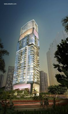 edificio de de nueva generacin para la ciudad del futuro