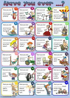 Present perfect interactive and downloadable worksheet. You can do the exercises online or download the worksheet as pdf.