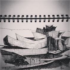 The Guggenheim Museum, Bilbao, Spain. Frank Gehry. #Architecture