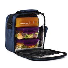 Sac isotherme cologique gris u konserve - Sac isotherme lunch box ...
