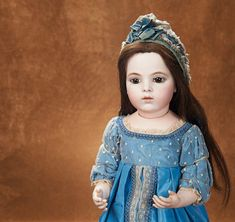 Theriault's Antique Doll Auctions | Lot: 13. Superb French Bisque Classic Bebe by Leon Casimir Bru with ...