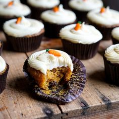 Easy Recipes for Carrot Cupcakes and Cream Cheese Icing