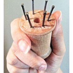 DIY Spool (French) Knitting