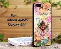 Harry Potter Inspired Marauders Map Galaxy Nebula iPhone 4, iPhone 4s, iPhone 5, Samsung Galaxy S III, Samsung Galaxy S IV Case on Etsy, $14.89