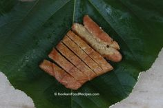 Jackfruit Idlis. Delicious, sweet jackfruit idlis steamed in teak leaves for their taste & smell. Best enjoyed steaming hot with a big dollop of ghee or butter on top. They're called ponsa idli in Konkani & are a Udupi, Mangalore favourite. Recipe from KonkaniFoodRecipes.com
