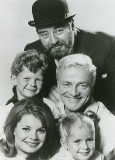 Family Affair - starring:  Sebastian Cabot, Johnny Whitaker, Brian Keith, Kathy Garver & Anissa Jones