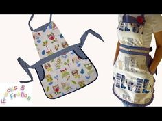▶ How to sew a frilly Kitchen Apron - YouTube