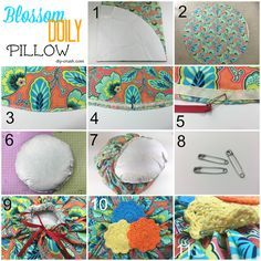 Blossom Doily Pillow Sewing Pattern & Review - DIY Crush