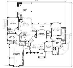 24 best house plans images floor plans house floor plans home plans rh pinterest com
