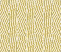 Freeform Arrows Large flax on natural fabric by domesticate on Spoonflower - custom fabric