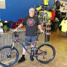 Rick with his new Trance 2 #bicycle #Fitness #fun #sandiego #temecula