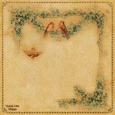 Violeta lilás Vintage: Papéis para Scrapbook vintage