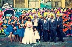 Graffiti Wedding