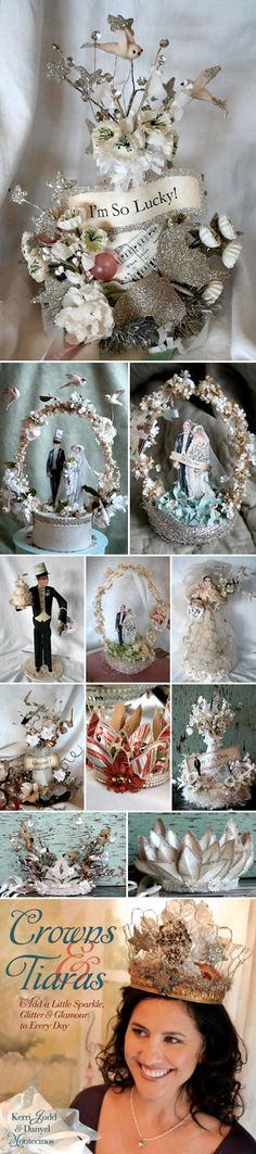 crowns and cake toppers