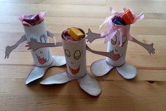 By Terenya, Con mis Ojos y mis Manos: con rollos de papel higiénico