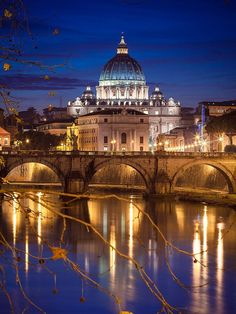 Have you ever walked around Rome, Italy, at night? Vibrant pictures of Rome, Italy show the exciting but calm atmosphere that pulsates all over Rome tourist attractions. Places Around The World, The Places Youll Go, Places To See, Around The Worlds, Italy Vacation, Italy Travel, Italy Trip, Architecture Romaine, Italy Architecture