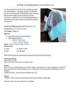 On-The-GoCrochetBabyBlanket-final.jpg 1,275×1,650 pixels