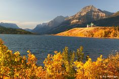 Prince of Wales Hotel and Waterton Lake, Waterton Lakes National Park, Canada