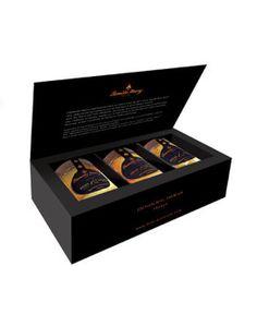 Famille Mary : MIEL : Coffret Premium 3 pots : Truffes, Cognac et Or ! Un coup de coeur Nature Corner.