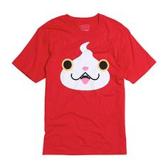 Yo-Kai Watch Jibanyan Face T-Shirt Hot Topic ($16) ❤ liked on Polyvore featuring tops and t-shirts