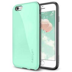 iPhone 6 Case, Spigen® [Anti-Shock] iPhone 6 (4.7) Case Bumper [Capsule Capella] [Mint] Advanced Surround Anti-Shock Slim TPU Case for iPhone 6 (4.7) (2014) - Mint (SGP11049): Amazon.in: Electronics