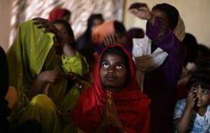 Associated Press/Muhammed Muheisen - Pakistani Christians pray during a Mass on Good Friday in a church in Islamabad, Pakistan, Friday, March 29, 2013. Christians around the world are marking the Easter holy week. (AP Photo/Muhammed Muheisen)
