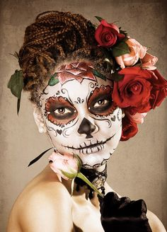 ! #Day_of_the_Dead #costume #makeup #Halloween