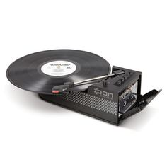 #ION Ultra Portable Digital Conversion #Turntable with Cassette Deck