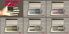 PUPA 4 Eyes palette | My Sims 2 Clutter Spot